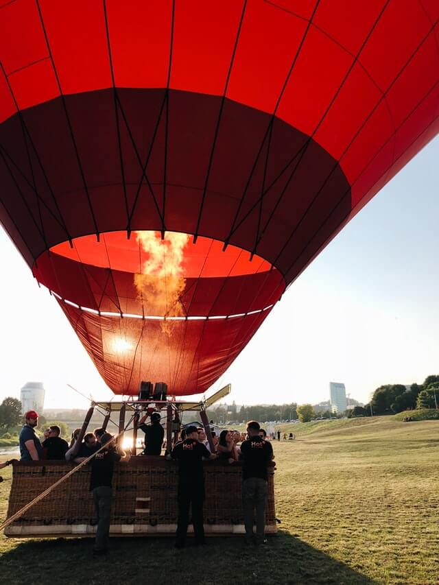 hot air balloon business