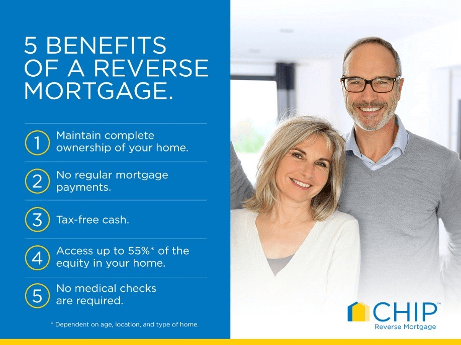 Advantages of Reverse Mortgage for Seniors
