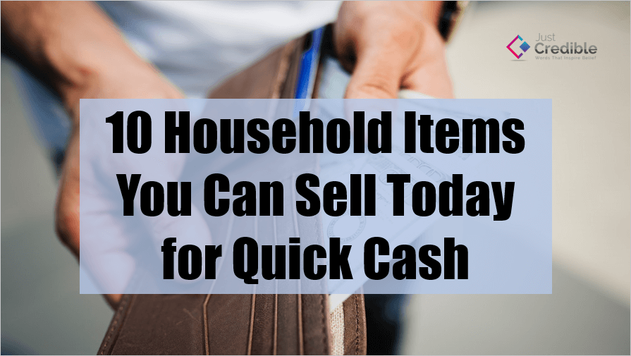 household items to sell for quick cash