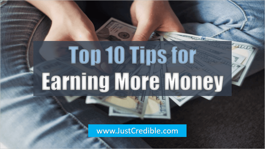 Tips for Earning More Money