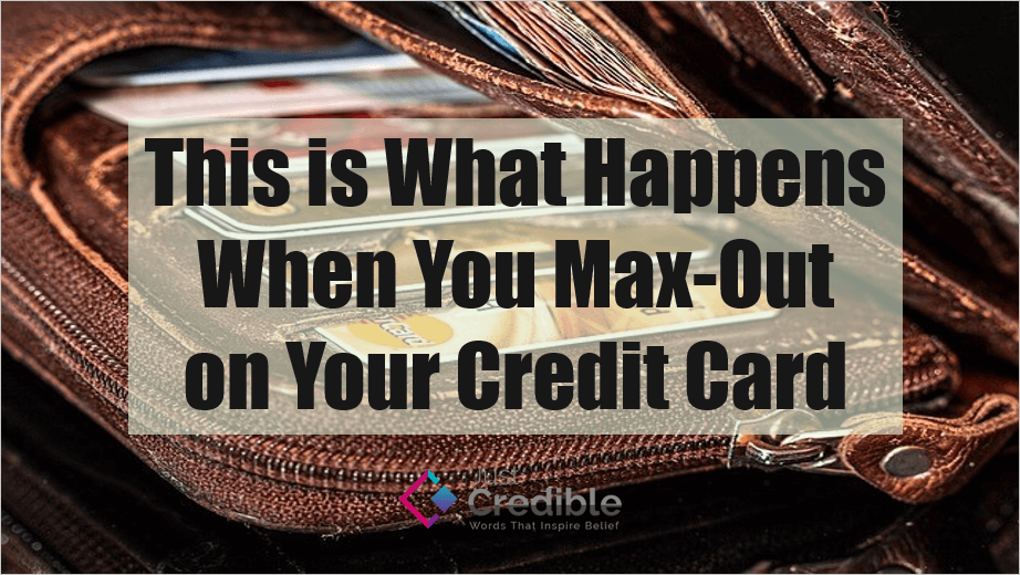 max out on your credit card