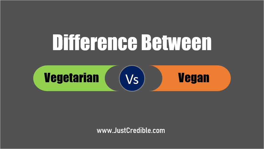 Difference Between a Vegetarian and Vegan