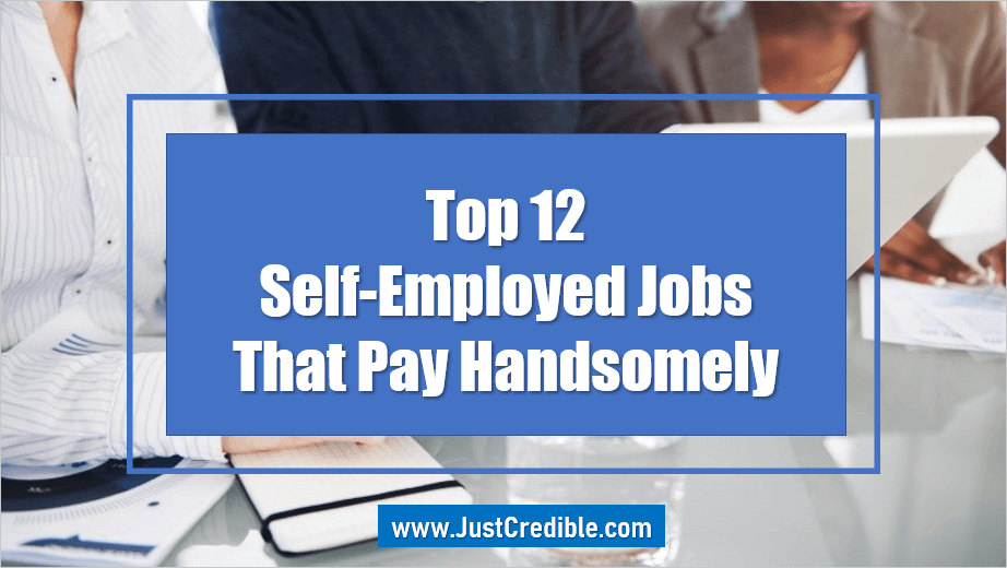 Self-Employed Jobs That Pay Handsomely