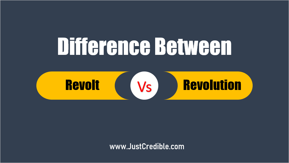 What is the Difference Between Revolt and Revolution