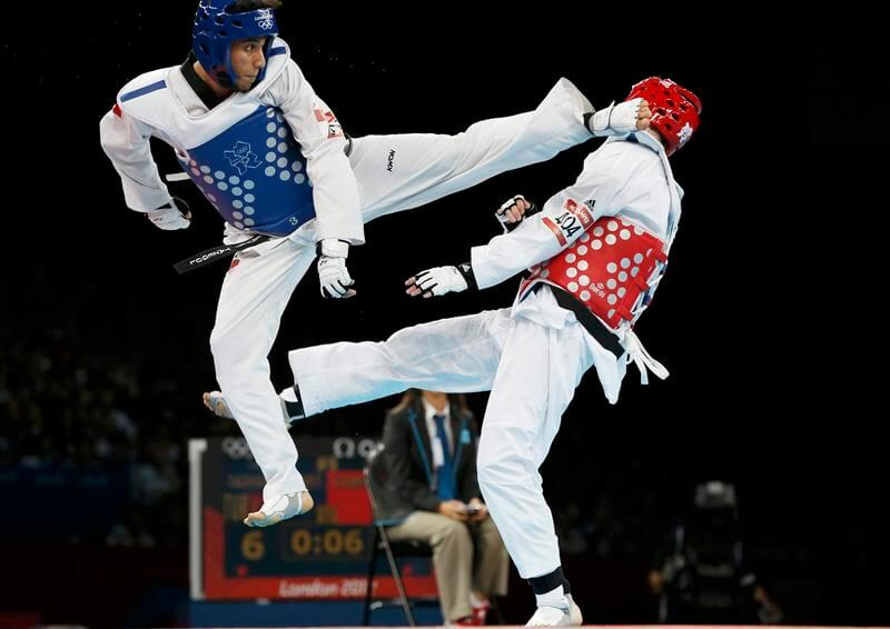 difference between karate and taekwondo