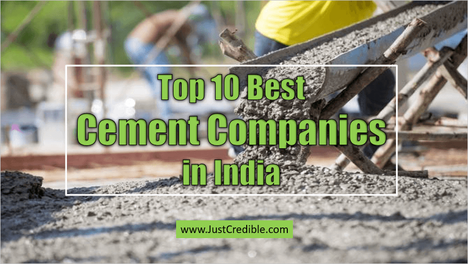 Best Cement Companies in India