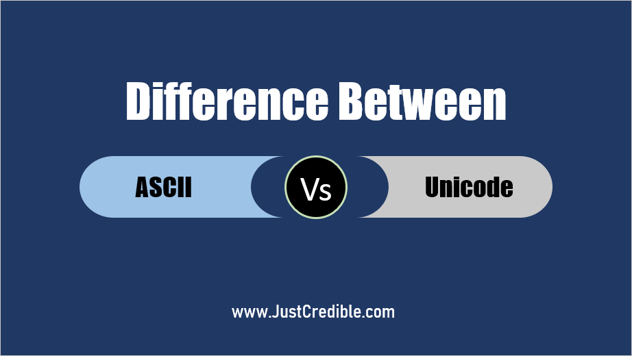Difference Between ASCII and Unicode