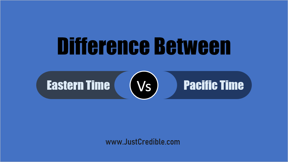 Difference Between Eastern Time and Pacific Time