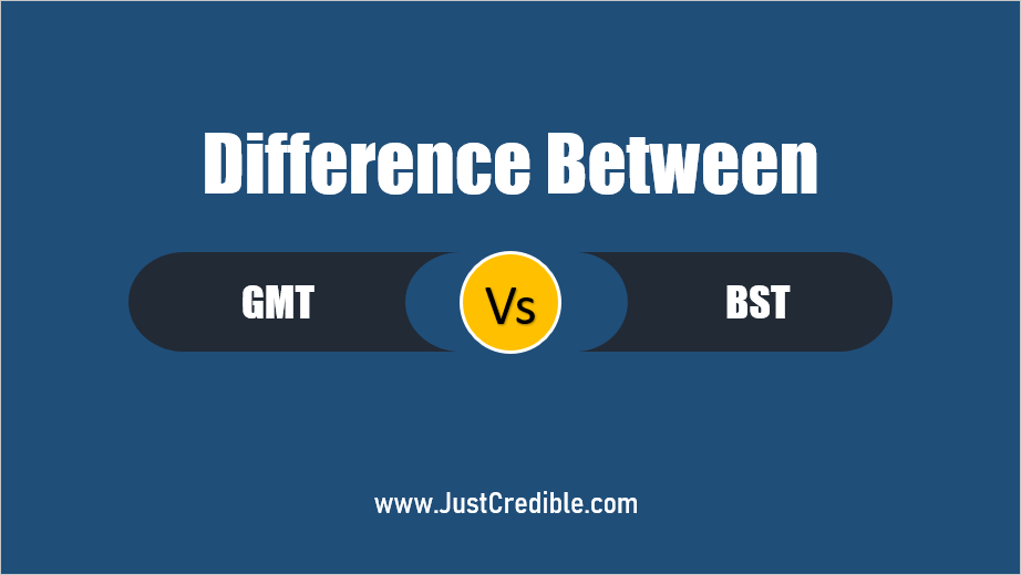 Difference Between GMT and BST