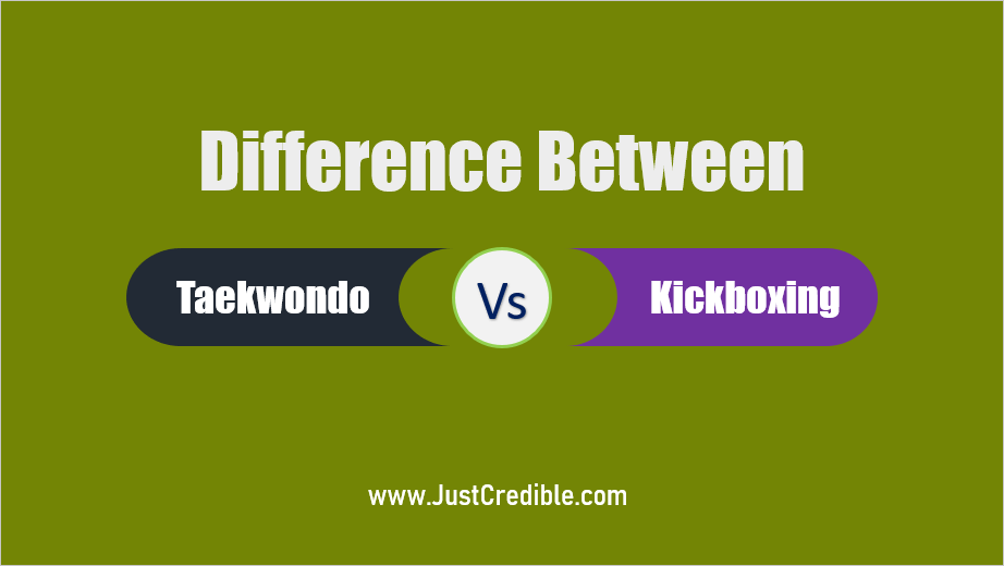 Difference Between Taekwondo and Kickboxing