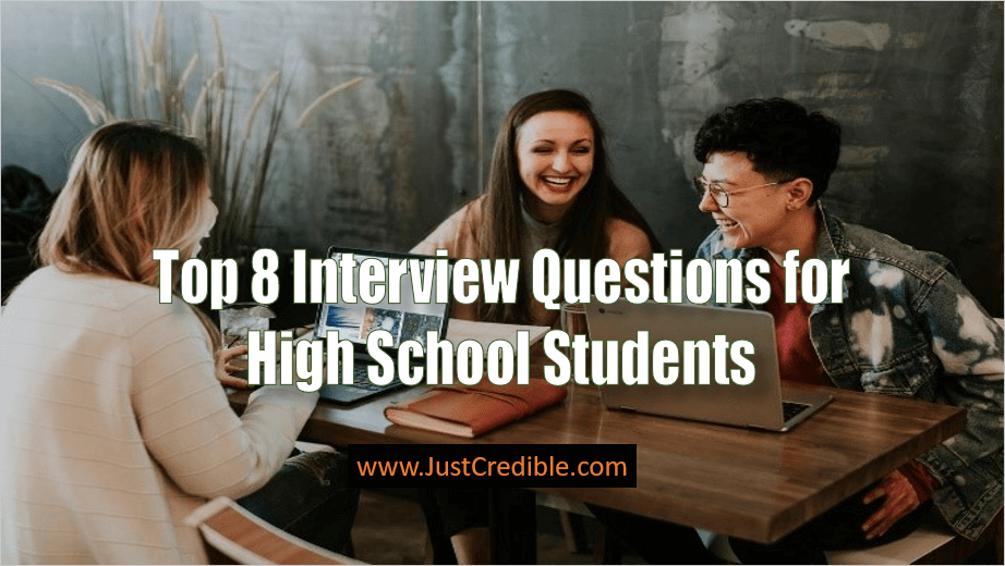Interview Questions for High School Students
