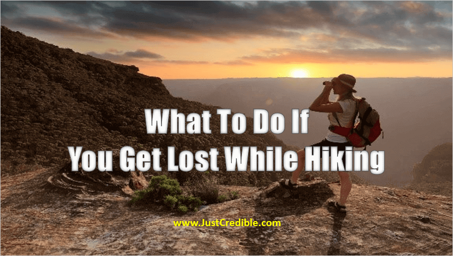What to Do if You Get Lost While Hiking