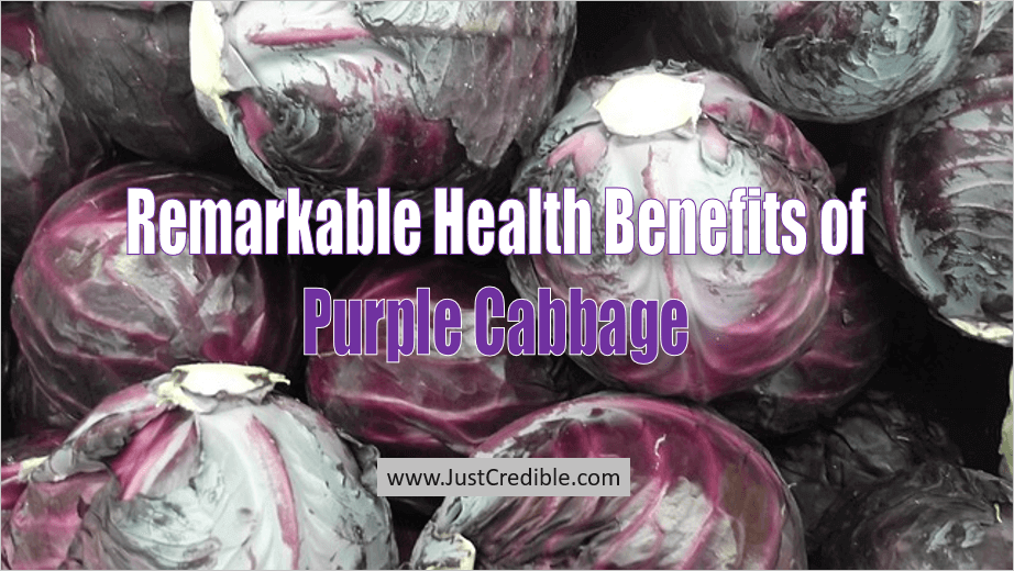 Health Benefits of Purple Cabbage