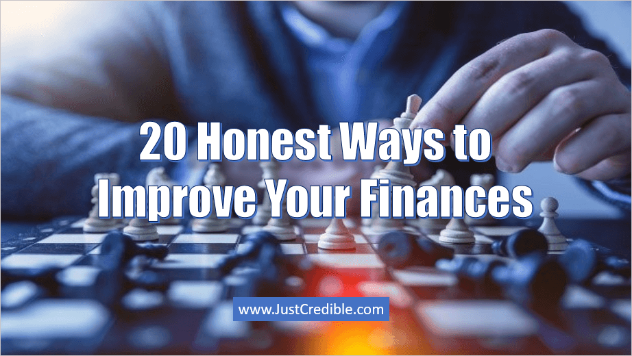 Honest Ways to Improve Your Finances