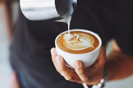 Substitute coconut milk in tea and coffee