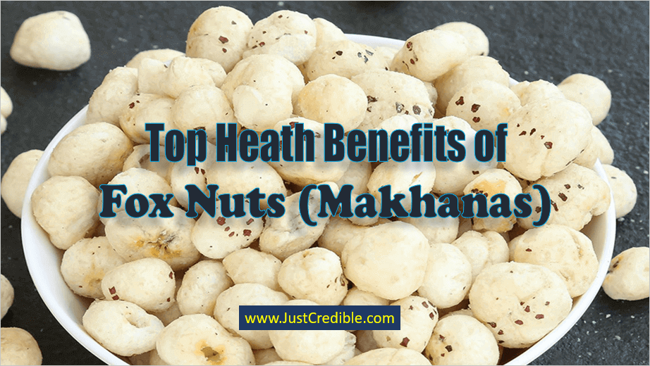 Heath Benefits of Fox Nuts