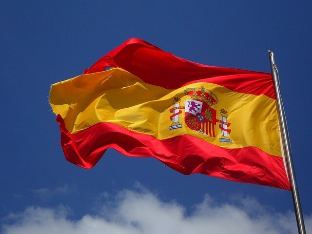 Most Beautiful Country Flags in the World - flag of Spain
