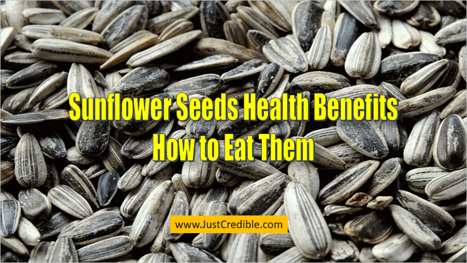 Sunflower Seeds Health Benefits