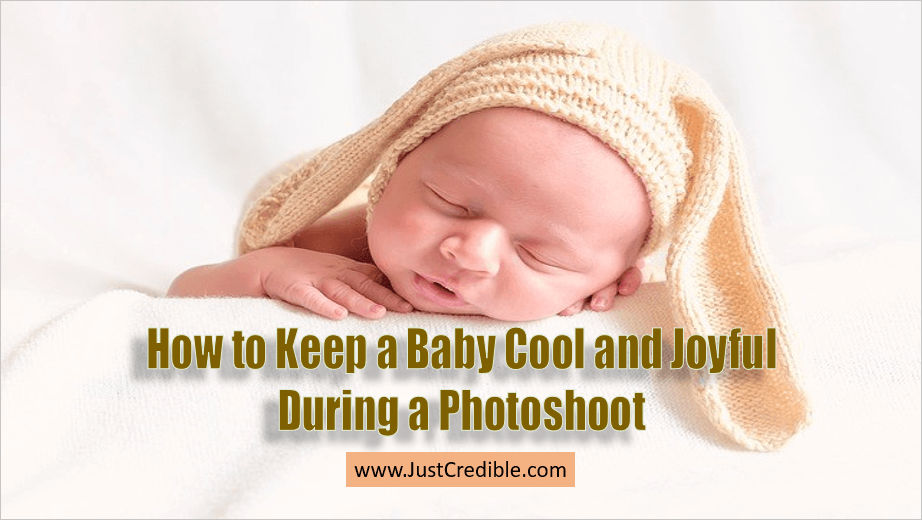 how to do baby photoshoot