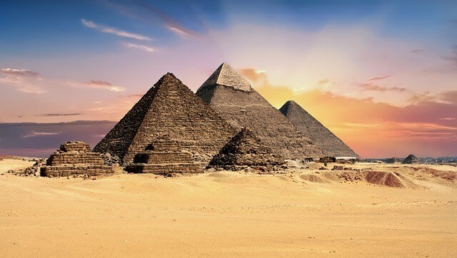 Great Pyramid of Giza - Original seven wonders of the world