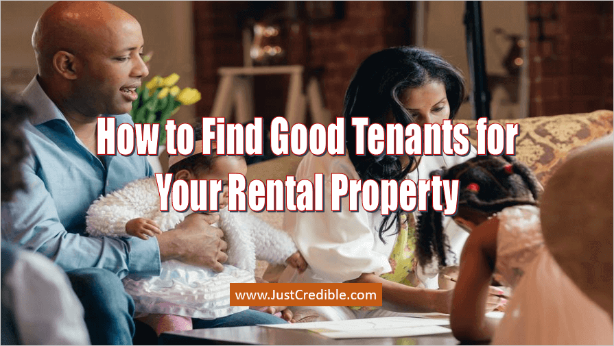 How to Find Good Tenants
