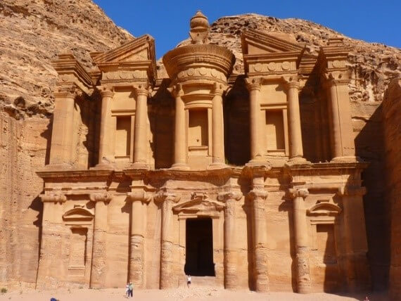 Rose City of Petra - New wonders of the world