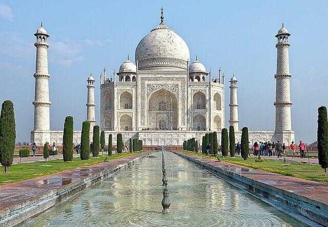 Taj Mahal - 7 wonders of the world