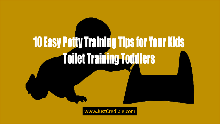 early potty training tips for kids and toddlers