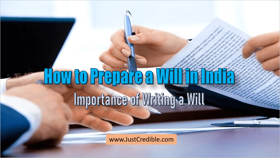 How to Prepare a Will in India