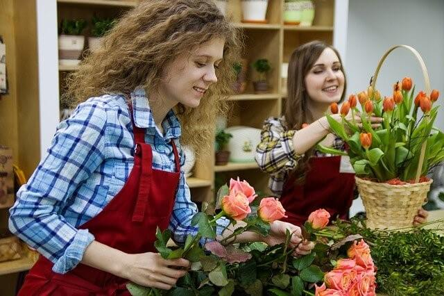how to start a florist shop