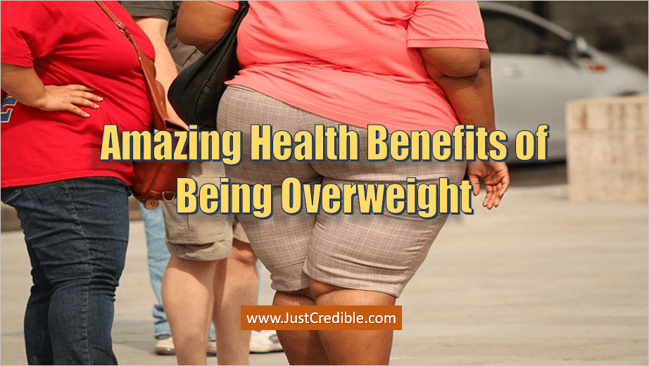 Health Benefits of Being Overweight