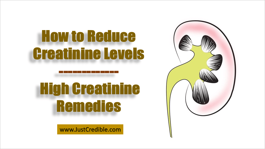 How to Reduce Creatinine Levels