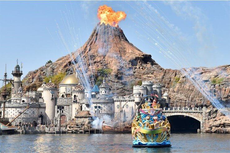 Tokyo Disneysea, Tokyo, Japan