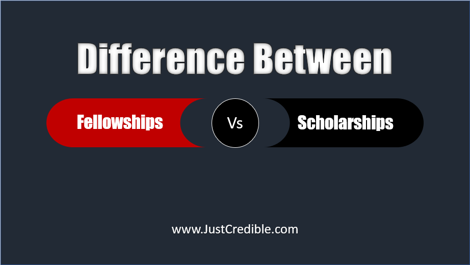 Difference Between Fellowships and Scholarships