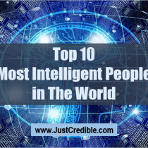 Top 10 Most Intelligent People in The World: Genius Person