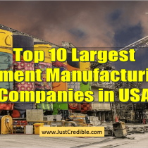 Top 10 Largest Cement Manufacturing Companies in United States of America for 2020