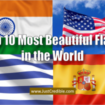 Top 10 Most Beautiful Country Flags in the World 2020