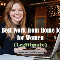 Top 10 Best Work from Home Jobs for Women (Legitimate)